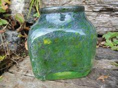 Vase/blekkhus fra Randsfjordglass - design Benny Motzfeldt