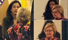Hillary Clinton and Huma Abedin are pictured together for the first time since losing election, after a five-hour meeting at the failed candidate's New York office | Daily Mail Online