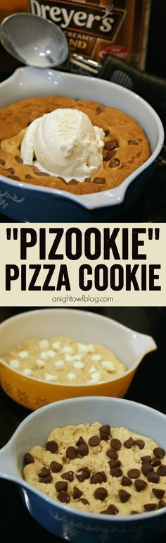 Pizza Cookie - how to make your own BJ's or Oregano's Pizookie (Pizza...