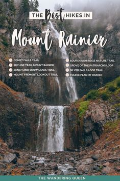 The Best Mt. Rainier Hikes - The Wandering Queen Places To Travel, Places To See, Travel Destinations, Mt Rainier National Park, Snow Lake, Us National Parks, Olympic National Park Hikes, Hiking Tips, Best Hikes