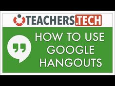 How to Use Google Hangouts - NEW 2016 Tutorial - YouTube