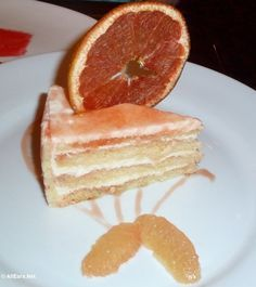 Brown Derby Grapefruit Cake; this website has a bunch of recipes from the Disney resorts/parks including the EPCOT world showcase....