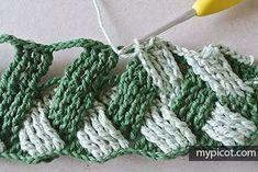 Watch This Video Beauteous Finished Make Crochet Look Like Knitting (the Waistcoat Stitch) Ideas. Amazing Make Crochet Look Like Knitting (the Waistcoat Stitch) Ideas. Crochet Diy, Easy Crochet Projects, Crochet Motifs, Crochet Stitches Patterns, Crochet Gifts, Crochet Designs, Crochet Dolls, Knitting Patterns, Basket Weave Crochet