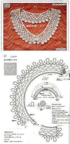 Crochet Yoke, Crochet Collar, Lace Collar, Irish Crochet, Crochet Accessories, Tatting, Crochet Earrings, Creations, Arts And Crafts