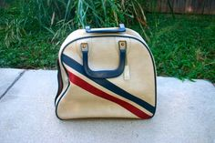 Vintage Bowling Bag/ Carry On