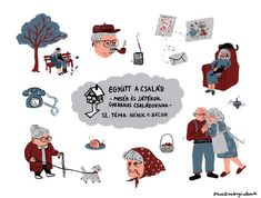 bogózat Stationary Shop, Pillow Fight, Puppets, Screen Printing, Artworks, Folk, Creatures, Animation, Comics