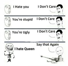 Say it again I dare you