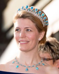 A couple of newly acquired images of Princess Kelly of Saxe Coburg Gotha at the birthday gala in Sweden