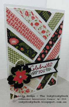 The InkyDinkyDuck - Lisa Hodge Stampin' Up!® Australia: More Paper Scrap Cards