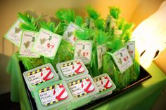 Ghostbuster Party #ghostbuster #partyfavors