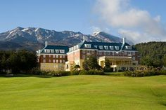 Beautiful Chateau Tongariro, New Zealand -  the venue for my wedding in 2010.