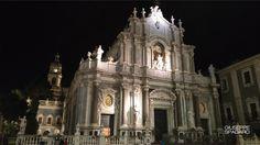 Atmosfere magiche di notte a Catania