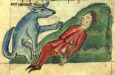 Medieval dogs and their masters. History of pets in medieval times. Guarding, wardogs, healing and pet dogs in Middle ages.