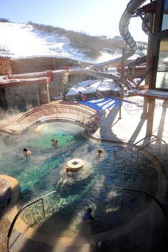 Old Town Hot Springs | Steamboat Springs | Colorado | mountains | hot springs | relaxing | getaway