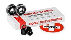 Bones Bearings - Swiss Bearings Bearings ( 8 pack ) 608 8 mm