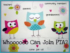 who can join the pta? | We really want to see our membership grow this year. Anyone can join ...