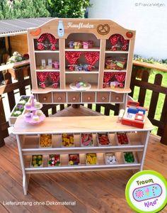 details zu kaufmannsladen kaufladen aus holz natur 74 x 62 5 x 92 cm beluga 30860 babyboy. Black Bedroom Furniture Sets. Home Design Ideas