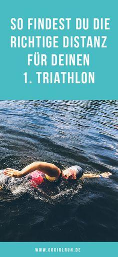 Du möchtest das erste Mal bei einem #Triathlon starten, weißt aber nicht, welche Distanz die richtige für Dich ist? Hier findest Du es heraus! #sport #training #swimbikerun