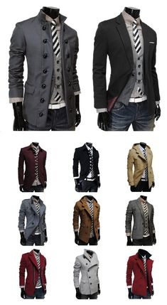 A well-dressed man will earn the attention - have a sense of adventure and try different looks!