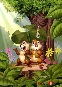 *CHIP 'N' DALE loved rescue rangers as a child