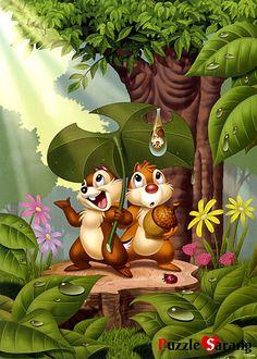 Ahörnchen und Behörnchen ... Gab im Kino meiner Kindheit immer Vorfilme vor'm Hauptfilm. Die waren so frech und lustig, dabei aber auch immer sehr mitfühlend und kreativ. Hatte auch Bilderbücher mit ihnen. Fand ich super!