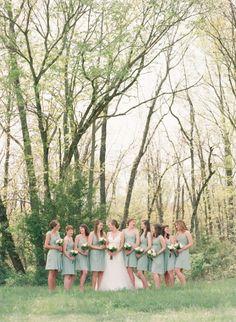 Farm wedding: http://www.stylemepretty.com/little-black-book-blog/2014/11/06/rustic-missouri-farm-wedding/ | Photography: Lisa Hessel - http://lisahesselphotography.com/