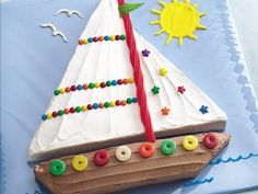 Fun ideas for summer birthday cakes #BettyBirthdays #BabyCenter
