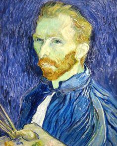 Self-portrait * Van Gogh * National Gallery of Art  Washington DC
