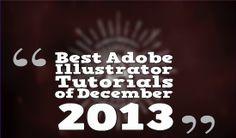 Best Adobe Illustrator Tutorials of December 2013