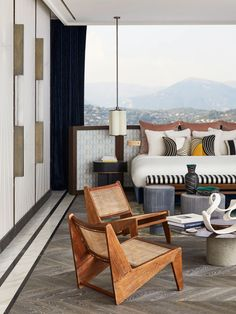 Tour a Dreamy Family Escape High Above Cannes | Architectural Digest