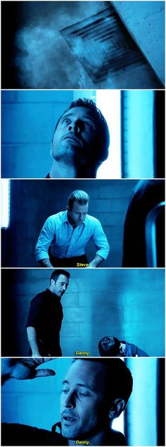 hawaii five 0 h50 mcdanno alex o'loughlin scott caan h50: 6x17 #seriously though #danny saying steve's name was = 'steve. something's wrong. help. please. '#steve saying danny's name over and over was = 'danny? are you okay? are you okay?'
