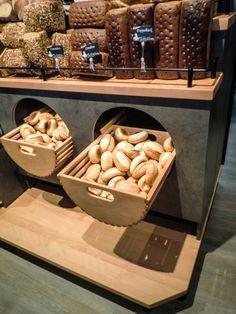 Brötchen Präsentation • Bun presentation • Bakery • Bäckerei • Sangermann • Olpe • Interieur • Ladenbau • Design • Walterscheid Projektschmiede