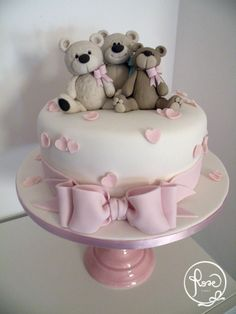 Teddy Bears ispiration #DebbieBrown Rose Cakes Rome