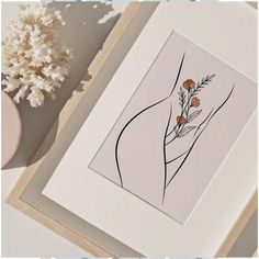 Nude Woman Body Single Line Drawing, Abstract Body with Flowers Tattoo Line Art Print Boho Decor, Minimalist Neutral Printable Wall Art Minimalist Drawing, Minimalist Art, Drawing Sites, Drawing Tutorials, Painting Tutorials, Single Line Drawing, Dog Line Drawing, Drawing Hair, Gesture Drawing