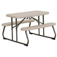 Putty Color Kids Picnic Table   80232 Lifetime Childrenu0027s Picnic Table