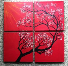 love these multiple canvas paintings! # Pin++ for Pinterest #