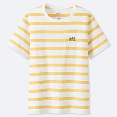 0f0715eea Uniqlo Women's Sprz Ny Short-sleeve Graphic T-Shirt (jean-michel Basquiat
