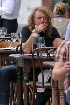 Robert Plant in Robert Plant and Katrina Chester Get Lunch
