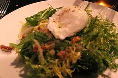 Cuisine maison, d'autrefois, comme grand-mère: Recette de la salade lyonnaise, aux lardons, oeuf ...