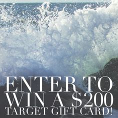 $200 Target Gift Card Giveaway 11/10 - Blog By DonnaBlog By Donna