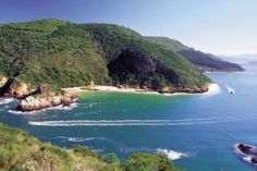Enchanting Southern Coast of Africa, Knysna Heads, Garden Route, South Africa.