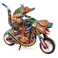 Manuel Cruz: Spectacular Easy Rider Armadillo