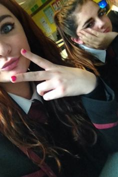 #loveschool #lauren #me #pout