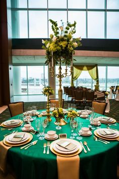 Elegant Wedding Inspiration at Baylor University's McLane Stadium and Baylor Club