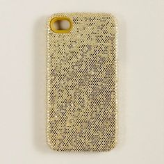 J. Crew Glitter iPhone case $25 — perfectly festive for the holidays!