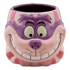 Cheshire Cat from Alice in Wonderland Disney Sculpted Mug.  $19.99