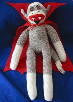 Some fun new Pics including updated Vampire Sock Monkey | Sock ...