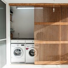 Laundry Doors, Laundry Room Cabinets, Laundry Closet, Laundry Room Storage, Laundry Room Design, Outside Laundry Room, Outdoor Laundry Rooms, Small Laundry Rooms, Küchen Design