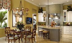 Luxury Interior Design, Transitional Style.