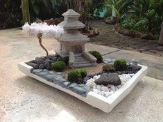 Resultado de imagem para mini zen garden